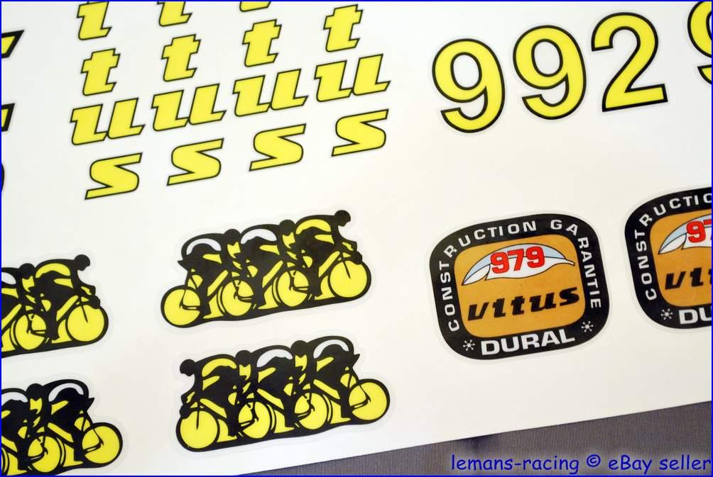 Restoration Decals Kit for VITUS 992 OVOID  Frame Fork FREE Gift Stickers Set